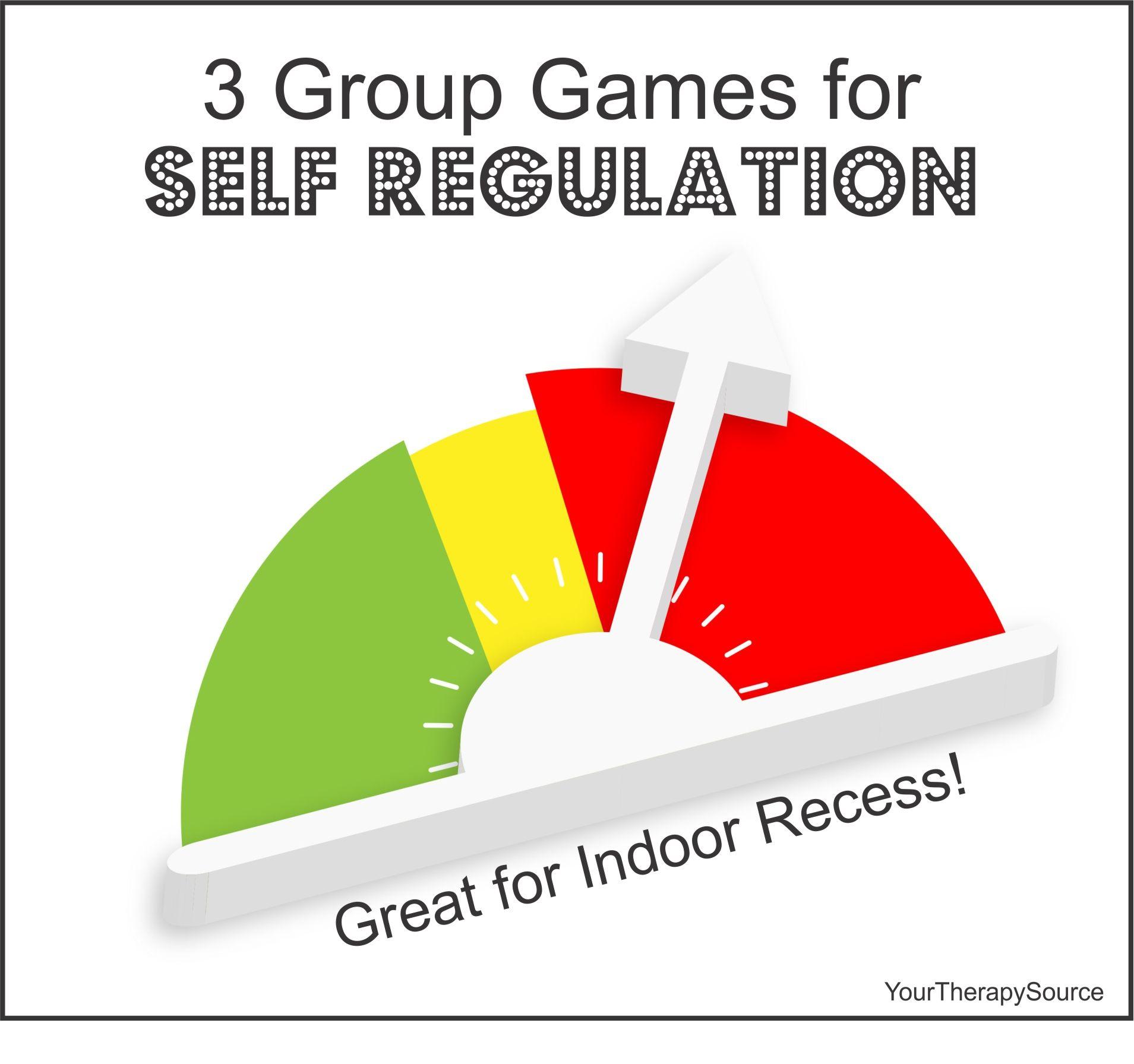 3 Group Games to Help with SelfRegulation Skills Self