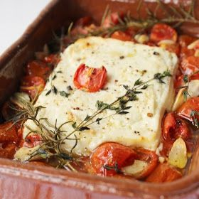 Photo of Penne in a pot: baked sheep's cheese from the oven