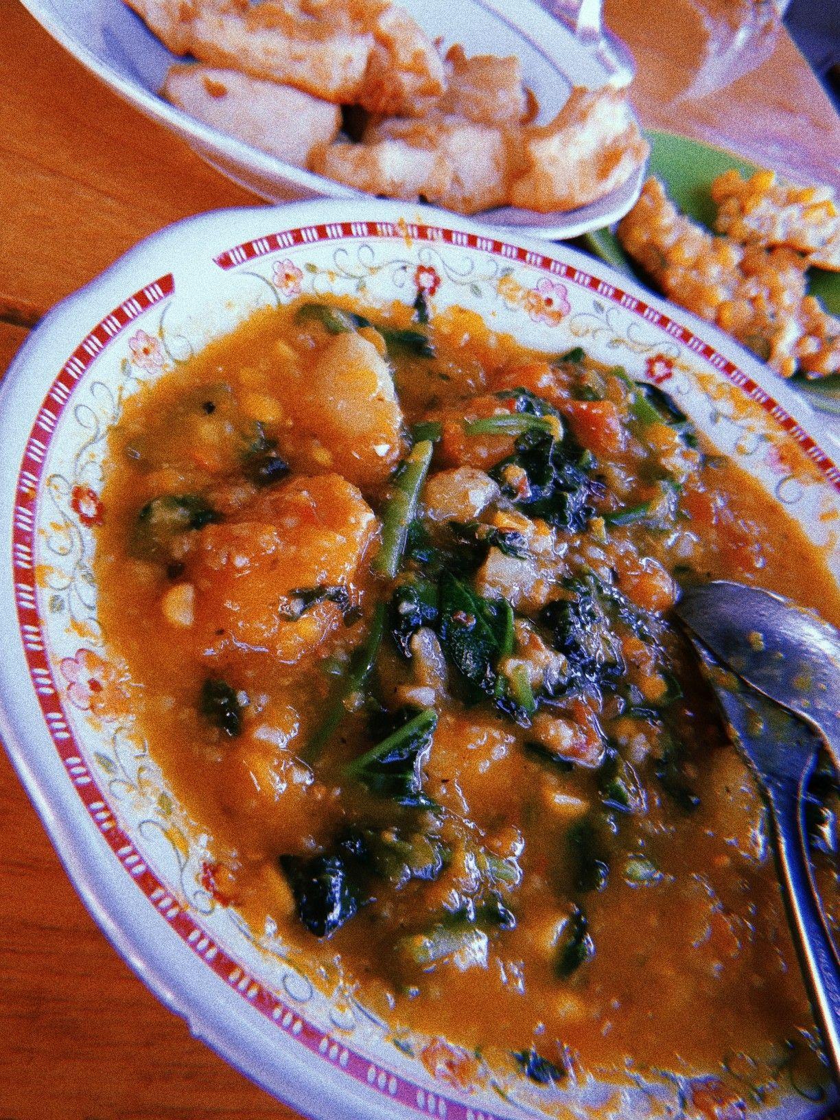 Tinutuan Bubur Manado Gorontalo Makanan Dan Minuman Makanan