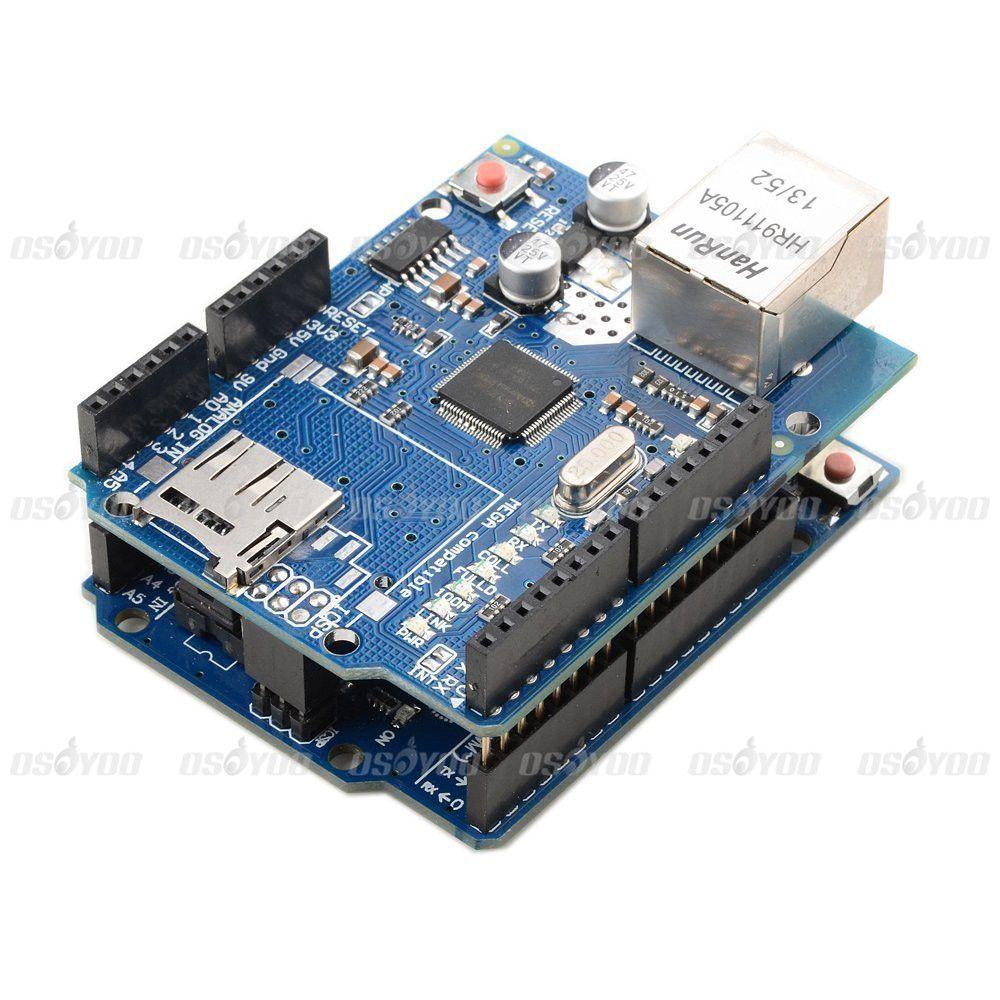 Ethernet Shield W5100 Expansion Network Board + UNO R3 Board