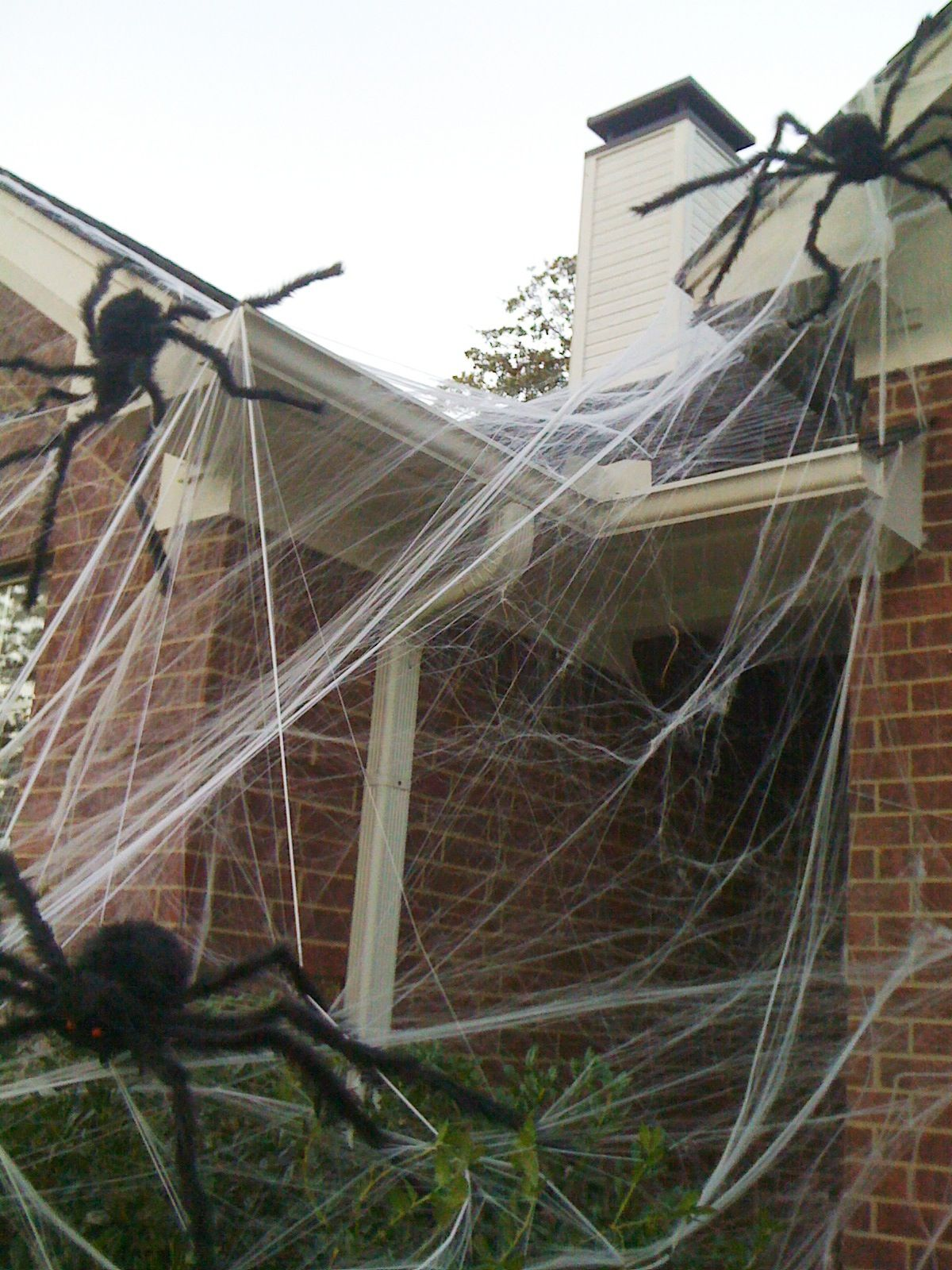 Cover your house with webs & huge spiders, for a BIG scream.  :-)