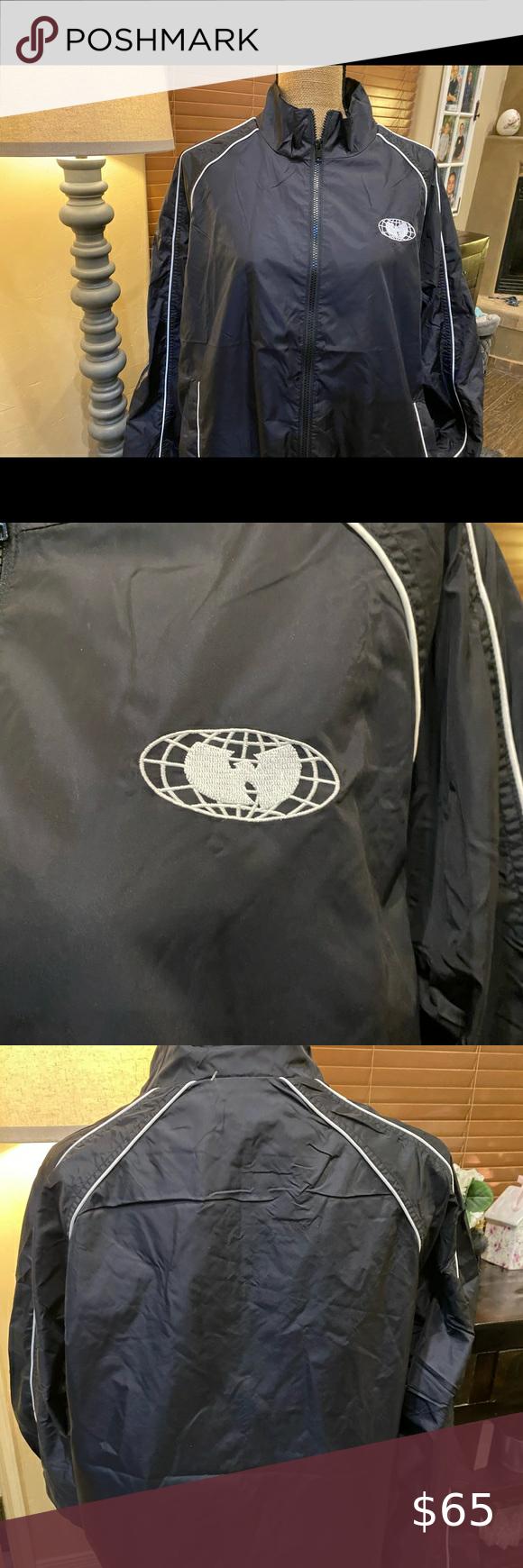 Wu Wear Wu Tang Jacket Wu Wear Wu Tang Jacket Brand New Wu Wear Windbreaker Jacket Smoke Free Home Wuwear Wutang Hiphop How To Wear Jacket Brands Jackets [ 1740 x 580 Pixel ]
