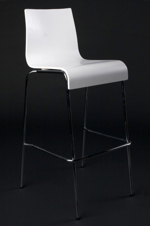 Design Barstuhl In Weiss Barstuhle Stuhle Barhocker
