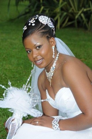 Black Natural Hairstyles For A Wedding : African american. black bride. wedding hair. natural hairstyles