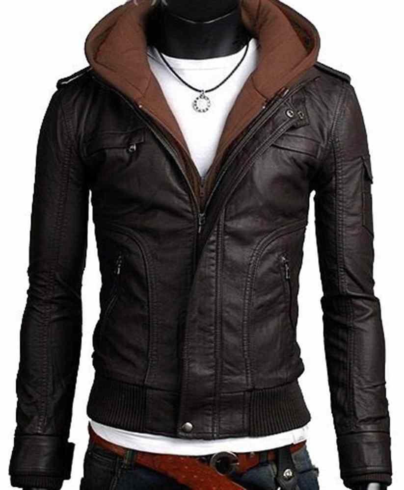 Hoodies Black Leather Jacket Men Leather Jacket Leather Jacket Men [ 999 x 823 Pixel ]