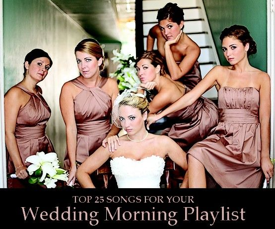 Wedding Morning Playlist.