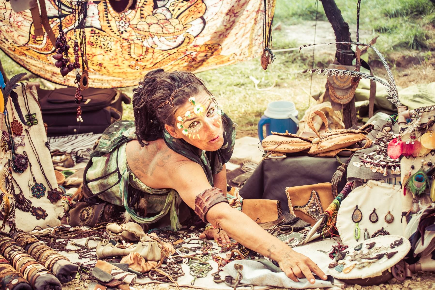 a4efbe86c Festival Fashion  6 Psychedelic Outfits You Should Wear To Your Next Rave -  Contemporary Psytrance festival clothing is versatile