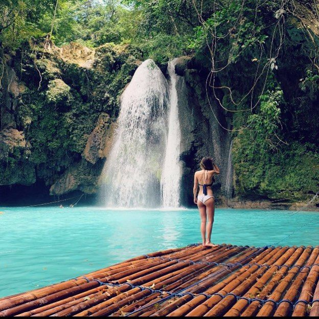 """""""There is a waterfall in every dream. Cool and crystal clear it falls gently on the sleeper cleansing the mind and soothing the soul."""" . . . . Philippines  by @distanceonceagain . . . . #modernwanderers . . . . by modernwanderers http://bit.ly/AdventureAustralia"""