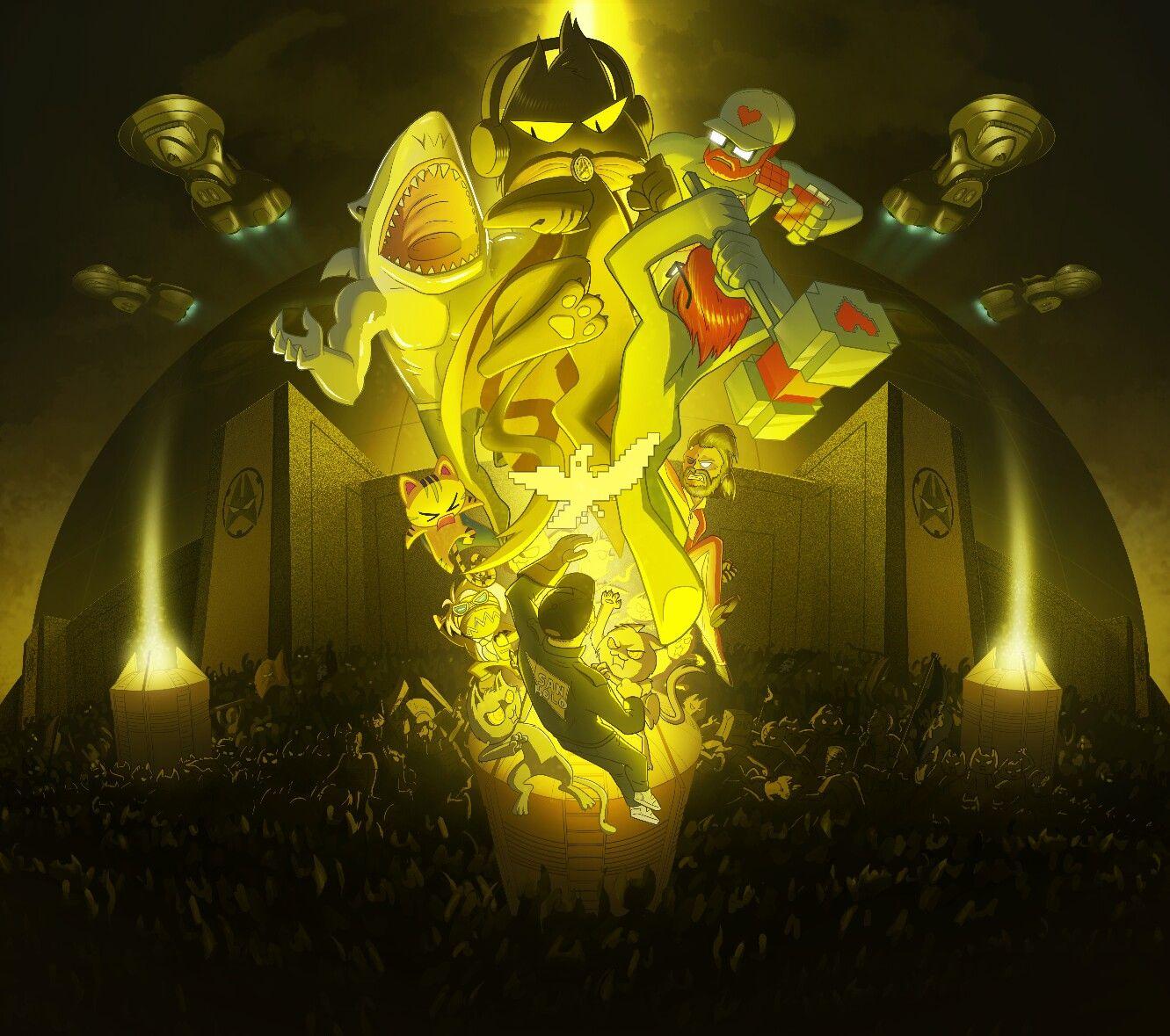 Monstercat 029 Havoc Album Art Wallpaper Album Art Art