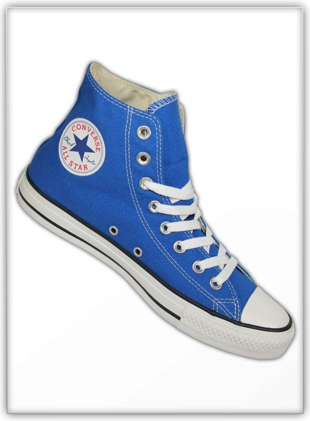 cb6721697aa 127997F Strong Blue Converse Chuck Taylor High Top