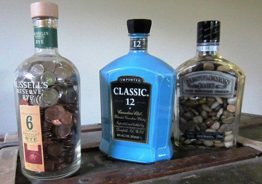 Empty Liquor Bottles Crafts Cool Craft Ideas For Adults Crafts
