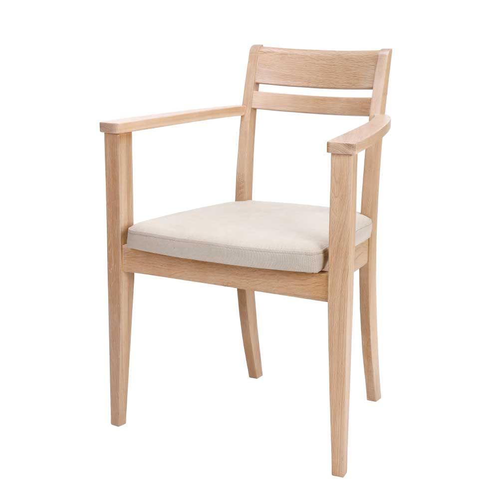 Stuhl aus Eiche massiv gepolstert (2er Set) Jetzt bestellen unter ...