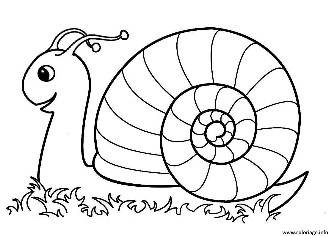 Coloriage Escargot Maternelle Dans La Nature A Imprimer Coloriage Escargot Coloriages Maternelle Coloriage Mandala A Imprimer