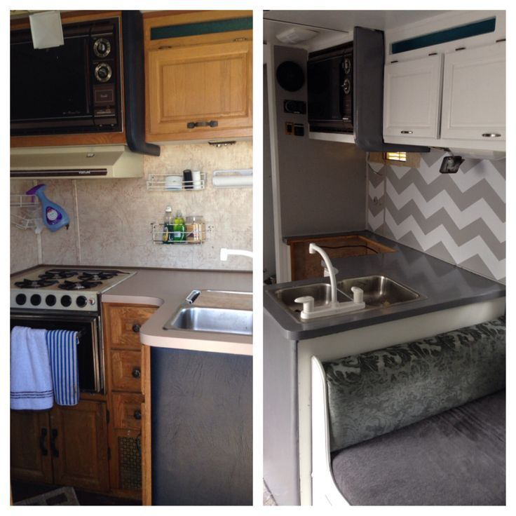 Simple Want To Take A Peek At Our Recent RV Remodel? 2 Months Ago We Sold Our 1800 Square Foot House And Moved Into A 27 Foot RV We Were Planning To Move Anyway And Thought That In Between Real Houses It Would Be The Perfect Time To