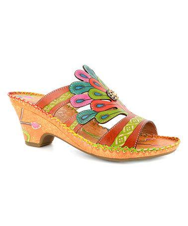 c8b9e8872dc Loving this Orange   Yellow Amber Bonsai Sandal on  zulily!  zulilyfinds