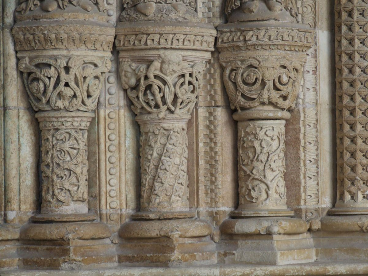 Cathédrale, sculptures, Bourges, Centre