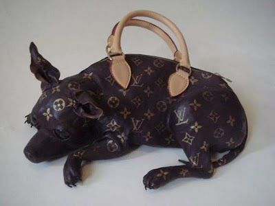 WTMF?! Ugliest purse ever - a dead dog purse?! | louis v ...