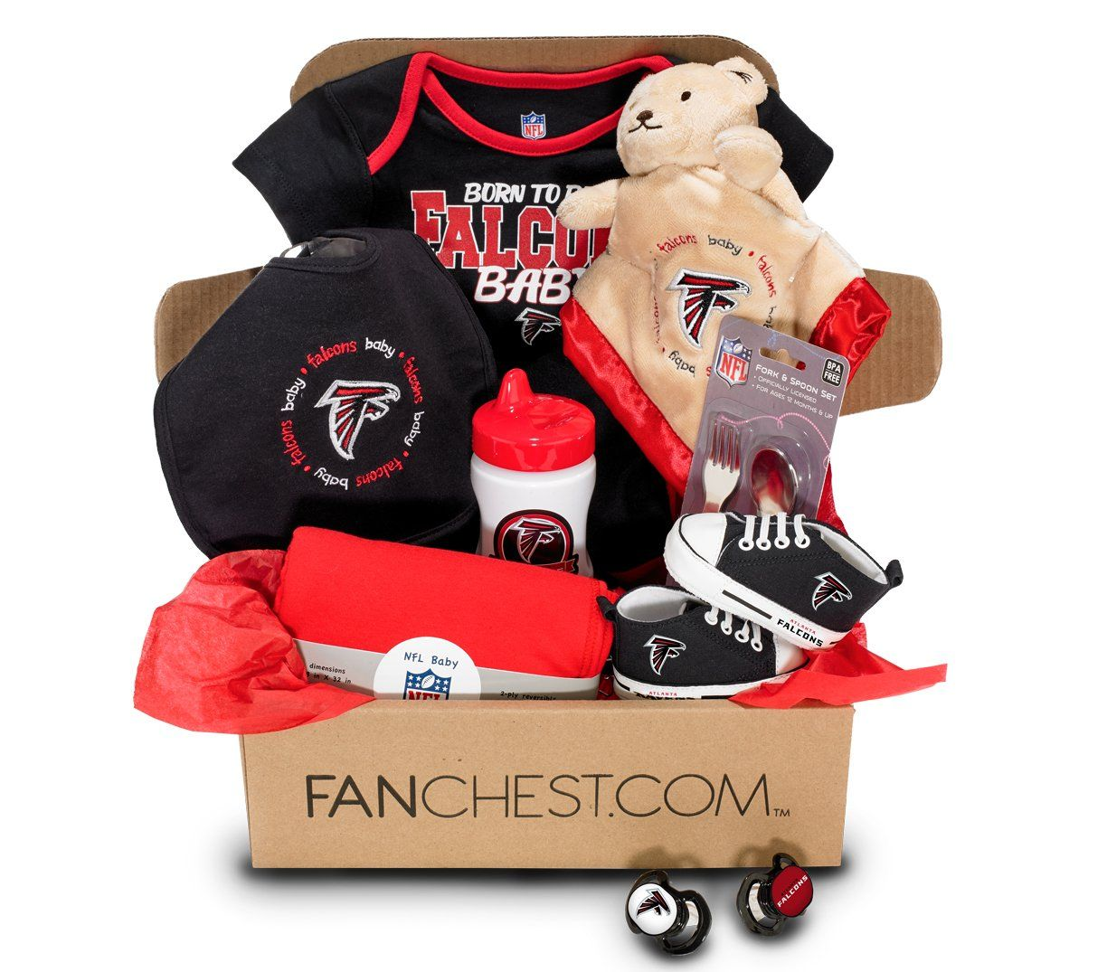02bca80b8ab3 Atlanta Falcons Baby FANCHEST - Baby - 3 Months