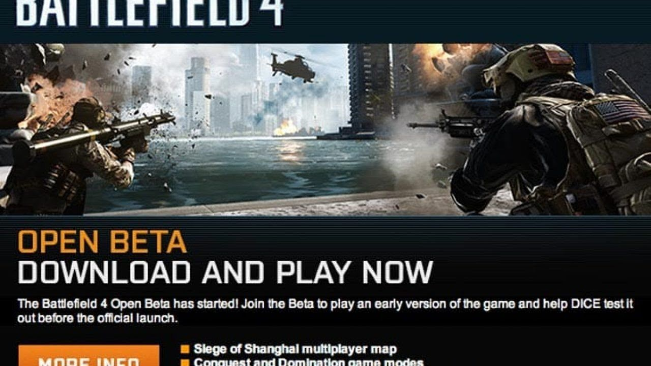 Let S Play Together Battlefield 4 Beta 1 Multiplayer Siege Of