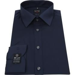 Photo of Olymp Level Five Shirt Sl7 Dark Blue Body Fit Olymp