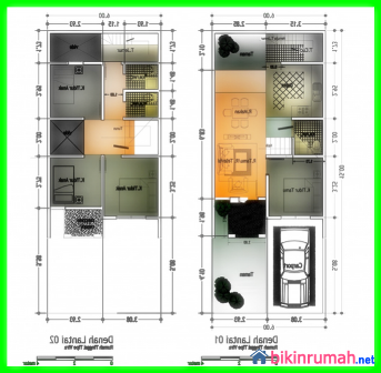 Rab Rumah 2 Lantai Ukuran 6x15 Content