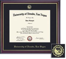 What Are You Planning On Hanging Your Diploma In We Like This Gloss Cherry Finish With Gold Trim Diploma Frame Framed Gifts Frame 18 unlv bookstore coupons now on retailmenot. pinterest