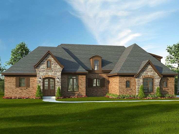 062H-0015 Multi-Generational House Plan With Secluded In-Law Suite