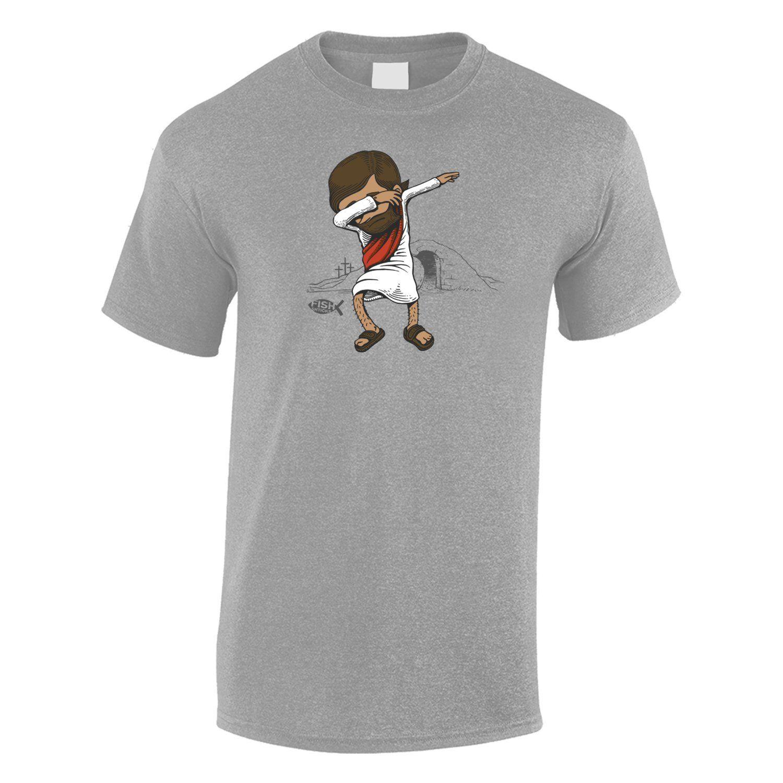 2a463e8a Jesus Dab' Fish Shticks Men's T-Shirt | Christian T-Shirts | Mens ...