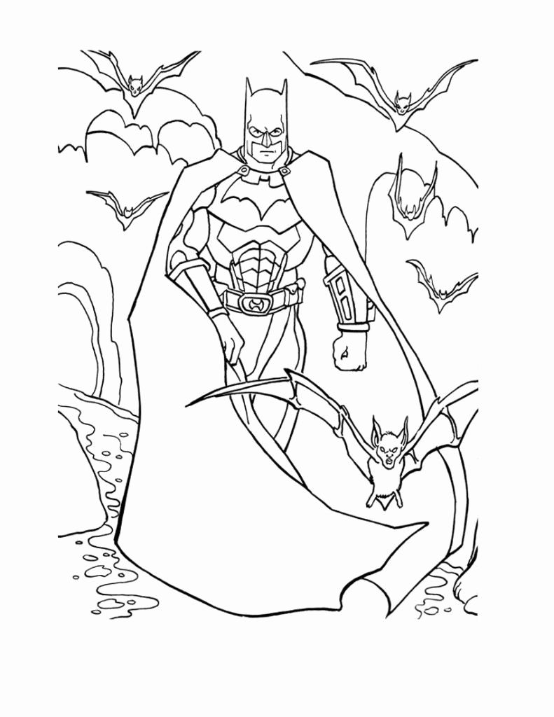 Christmas Batman Coloring Pages For Kids In 2020 Batman Coloring Pages Cartoon Coloring Pages Superman Coloring Pages