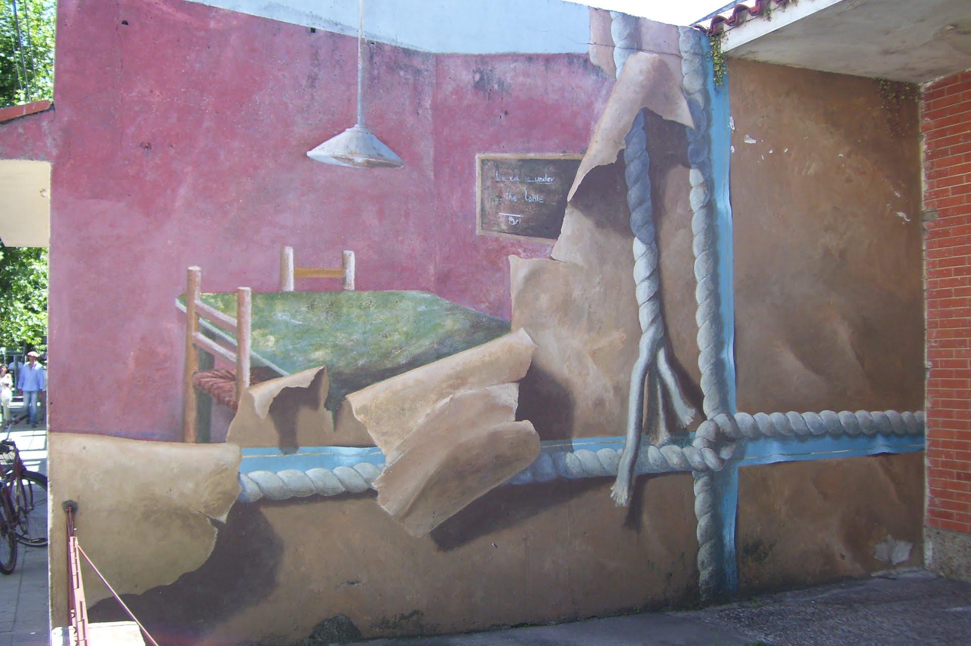 Murales en San Gregorio de Polanco.
