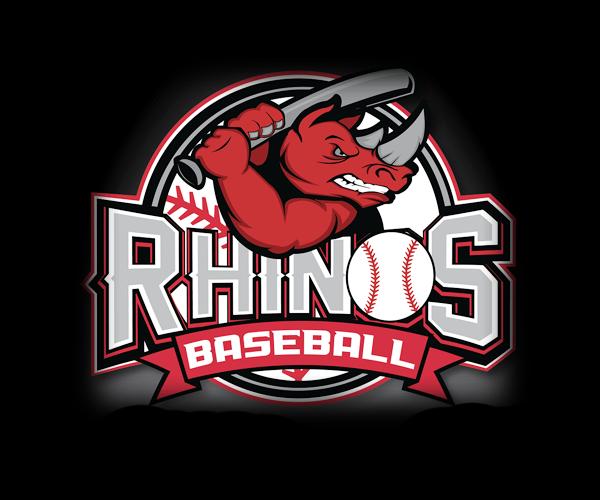 Rhinos baseball logo design canada logo sport pinterest logos baseball logo designs for your inspiration sciox Image collections