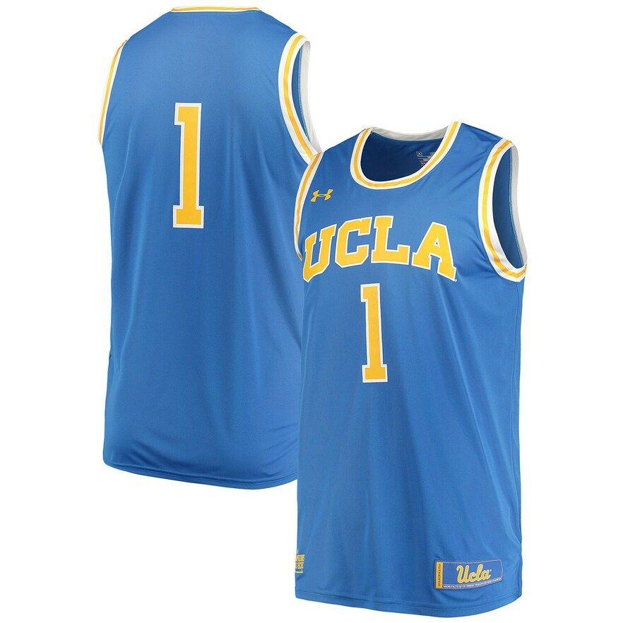 Men S Under Armour 1 Blue Ucla Bruins Replica Performance Basketball Jersey In 2020 Basketball Jersey Ucla Bruins Ucla Basketball