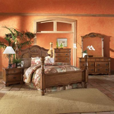 Picket House Furnishings Bella Four Poster Customizable Bedroom Set