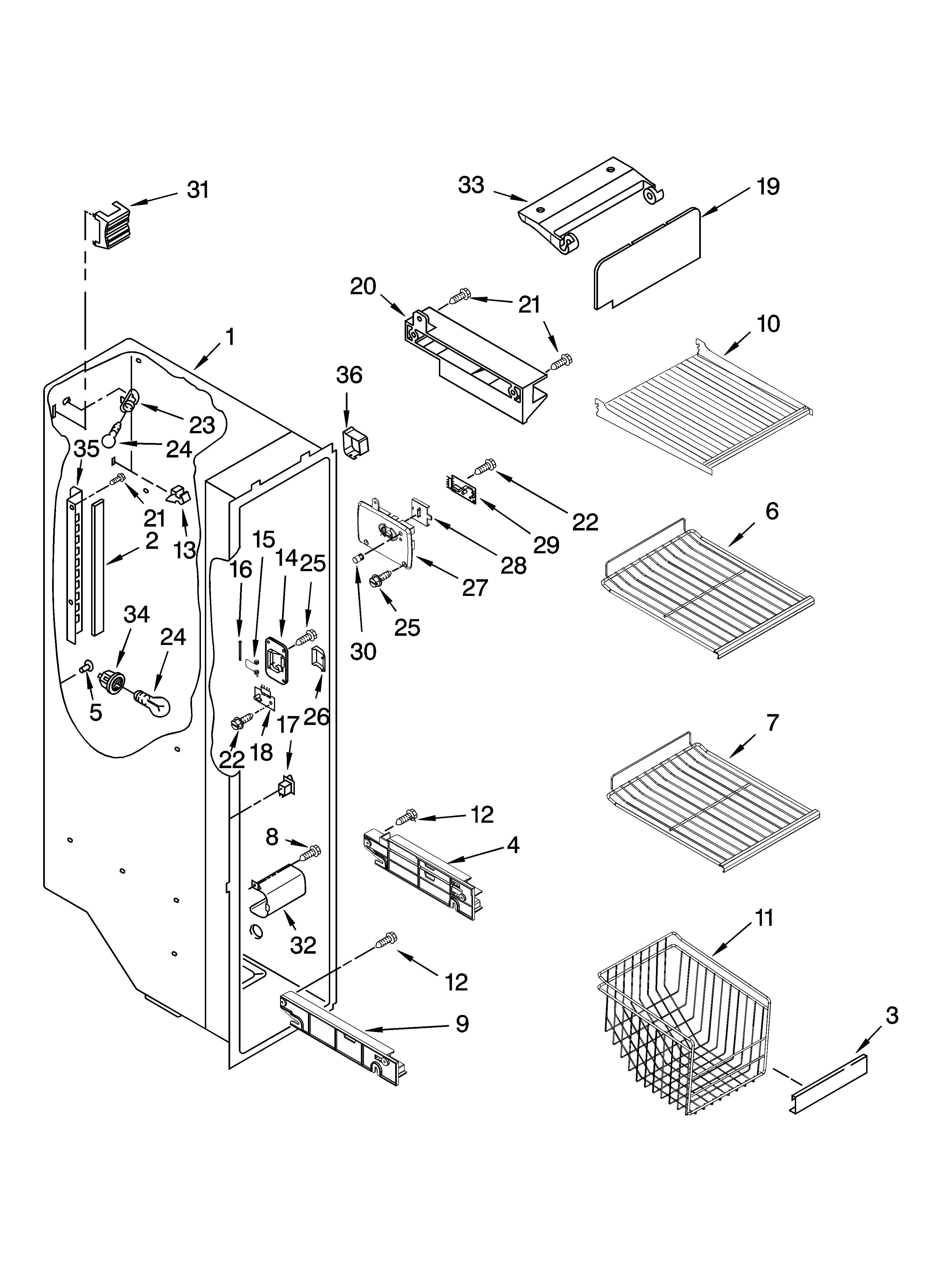Frigidaire Ice Maker Parts Diagram Kenmore Refrigerator Ice Maker Parts Frigidaire