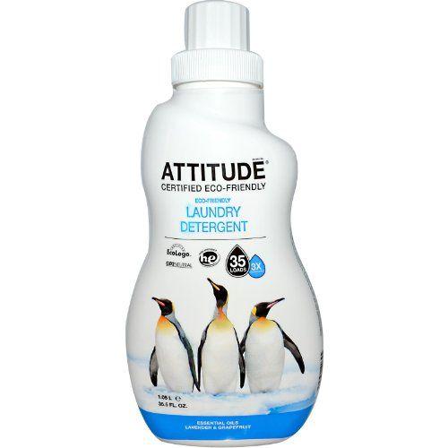 Attitude Lavender Grapefruit Laundry Liquid 3x He 35 Loads Giorgio