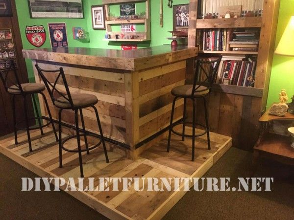 Coin meublé avec palettes Pallets, Wood pallets and Diy pallet