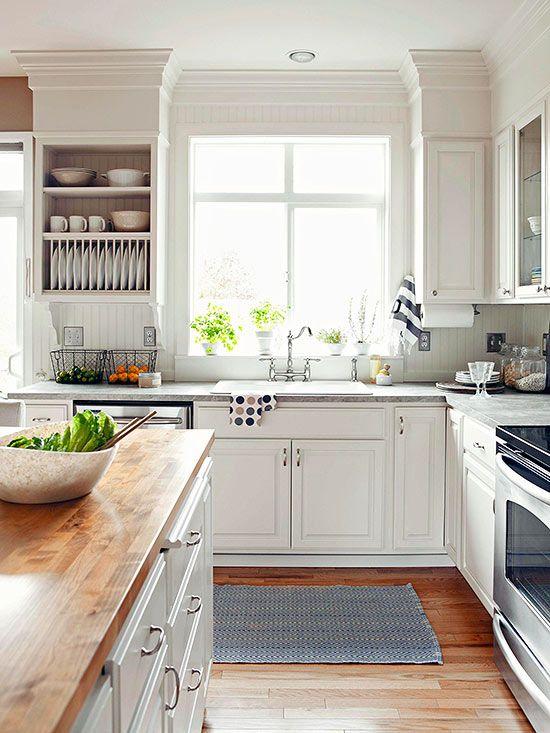 White Kitchens We Love #allwhiteroom