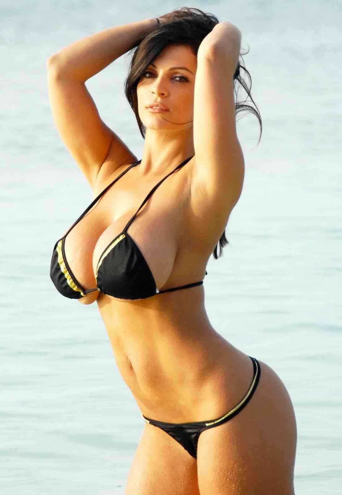 Consider, that Denise milani hot bikini