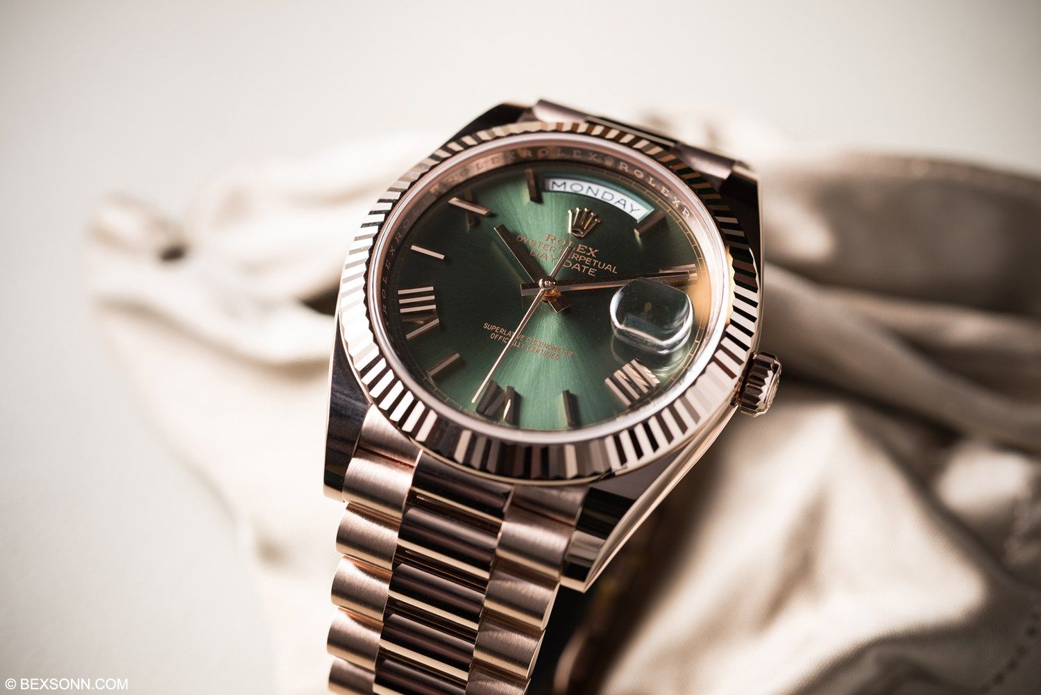 60TH ANNIVERSARY ROLEX DAY-DATE 40