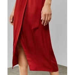 Photo of Medium-length wrap skirt with slit Ted BakerTed Baker
