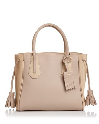 LONGCHAMP Penelope Fantaisie Small Leather Tote.  longchamp  bags  hand bags   suede  tote   4ea520a1cd4
