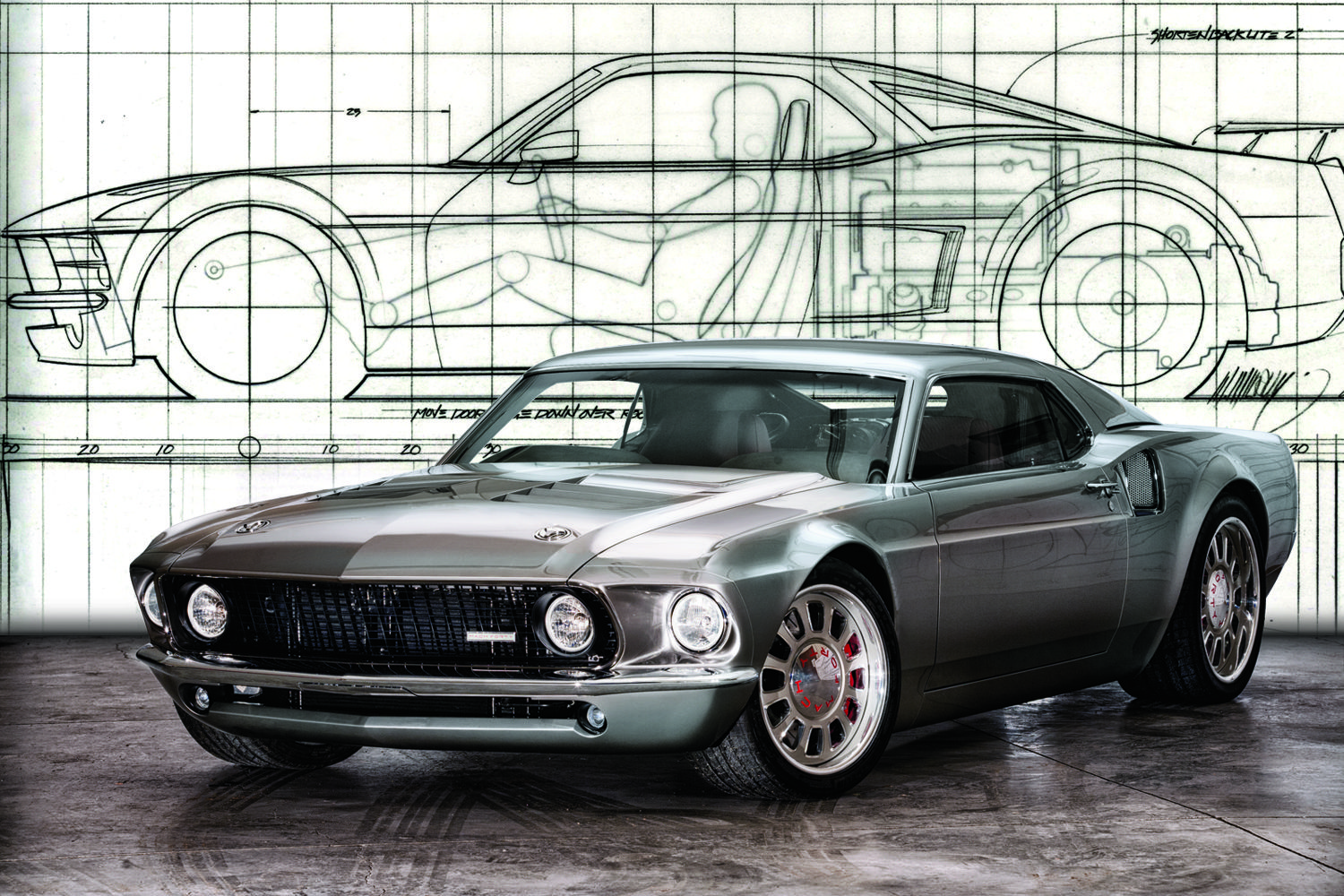 the custom mustang gt40 ford mach 40 cars pinterest. Black Bedroom Furniture Sets. Home Design Ideas