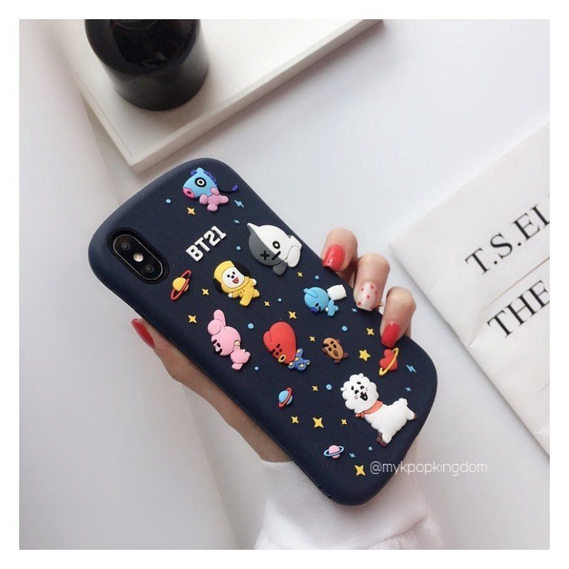 New stocks coming in features bt21 phone case