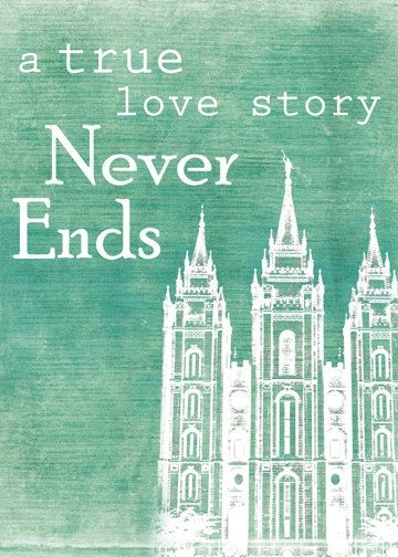 Love The Idea Of A True Love Story Eternal Marriage Temple And