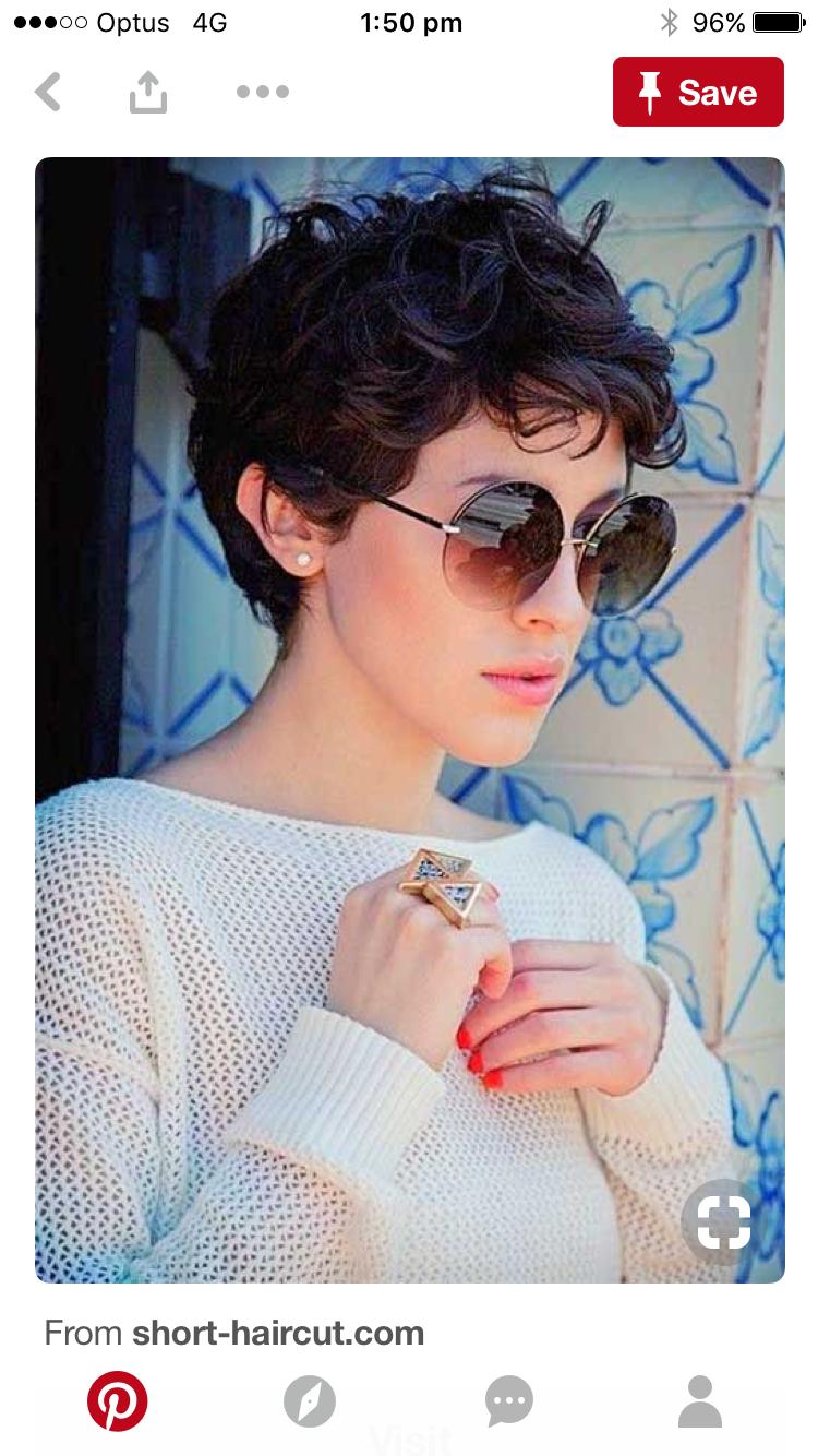 Pin by Nicole Azar on Hair inspo | Curly pixie hairstyles, Curly pixie  haircuts, Curly hair styles
