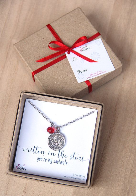 Best Friend Soulmate Cancer Zodiac Sign Necklace