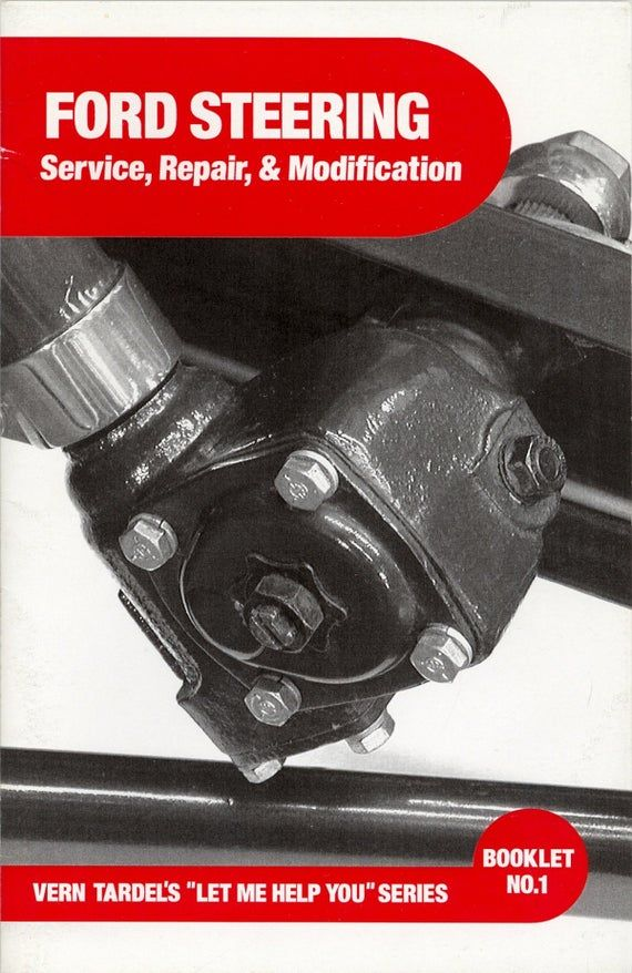 Early Ford Steering Service and Repair BOOK FLATHEAD V8 | Etsy