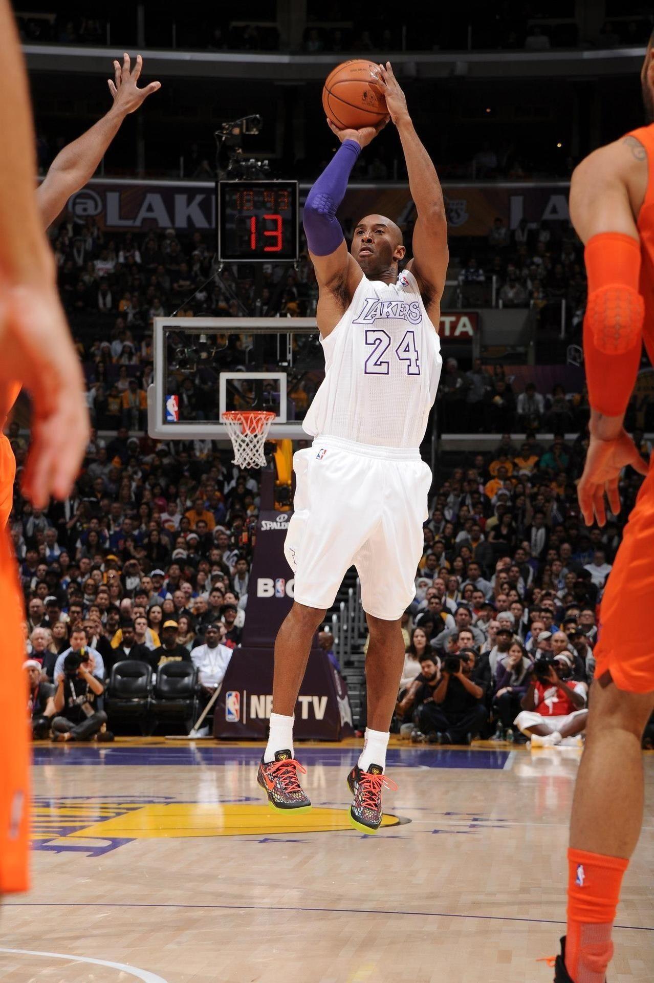 Kobe Bryant on Christmas Day in his Nike Kobe 8 | Sports | Pinterest ...
