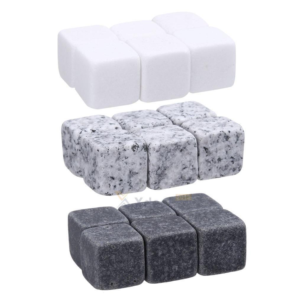 6x whiskey whisky scotch soapstone cold glacier stone ice cubes