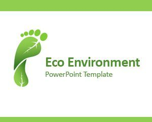 Download free Eco Environment PowerPoint template as a ...